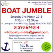 Lymington Boat Jumble