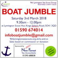 Lymington Boat Jumble