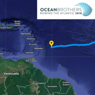 Nearly there! The Ocean Brothers should complete their row across the Atlantic this weekend!
