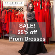 Belle Ella Prom Dress sale - starts Saturday 17 March