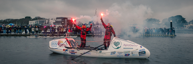 Last Friday Lymington welcomed home the Ocean Brothers - report and pictures of the day