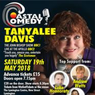 The Coastal Comedy Show at The Lymington Centre i19 May 2018