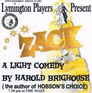 Zack by the Lymington Players