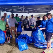 The New Forest Paddle Sport Company help clear waters of plastic