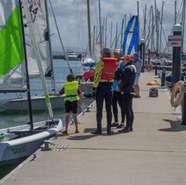 Learn to sail at Lymington Town Sailing Club