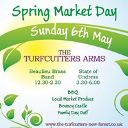 Spring Market Day at the Turfcutters Arms