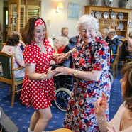 Fifties celebration at Colten Care's Belmore Lodge to raise funds for Lymington charity