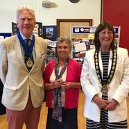 Lymington Centre celebrates 70 and Lymington celebrates new mayor