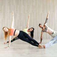 Natural Health Hub yoga workshop