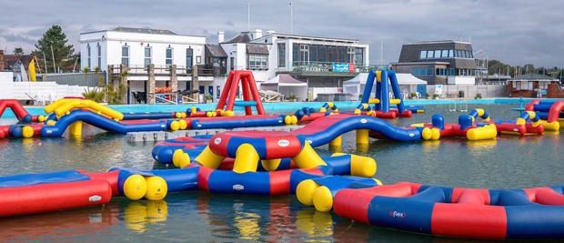Visit the Lymington Sea Water Baths this bank holiday weekend!