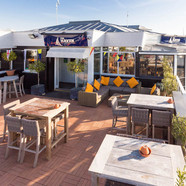 The Haven Bar and Restaurant has the best views in Lymington
