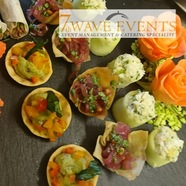Luscious delicious catering from 7th Wave Events